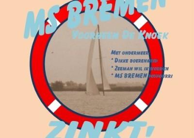 De MS Bremen zinkt!
